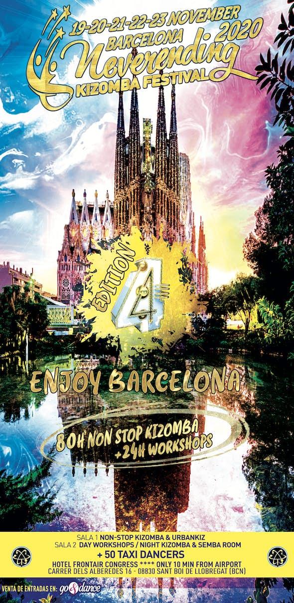 Neverending Kizomba Festival Barcelona 2020 (4th Edition)