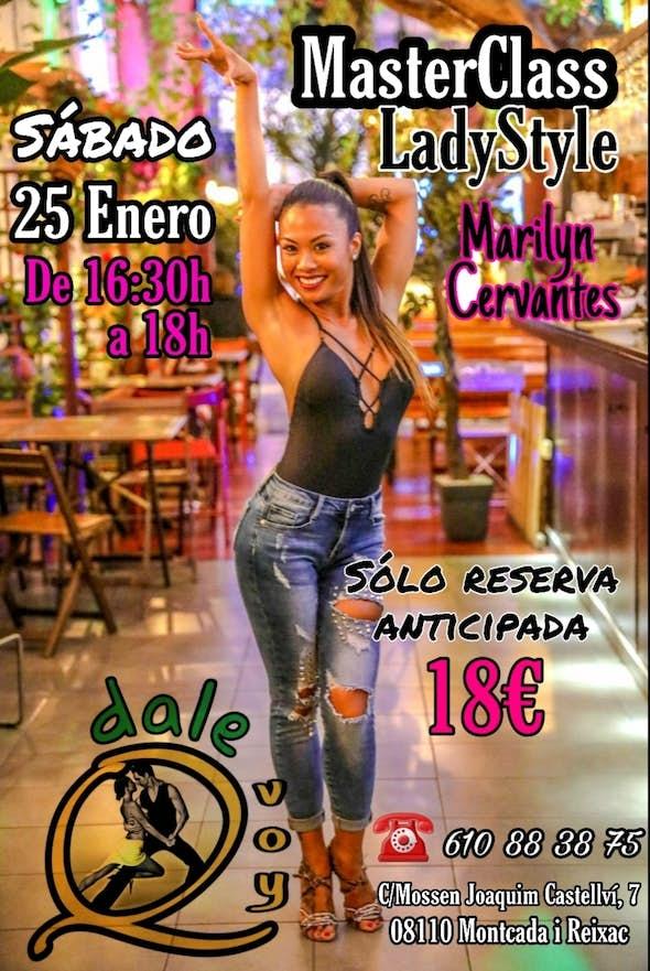 MasterClass Estilo Chica con Marilyn Cervantes en DaleQvoy - 25 Enero 2020