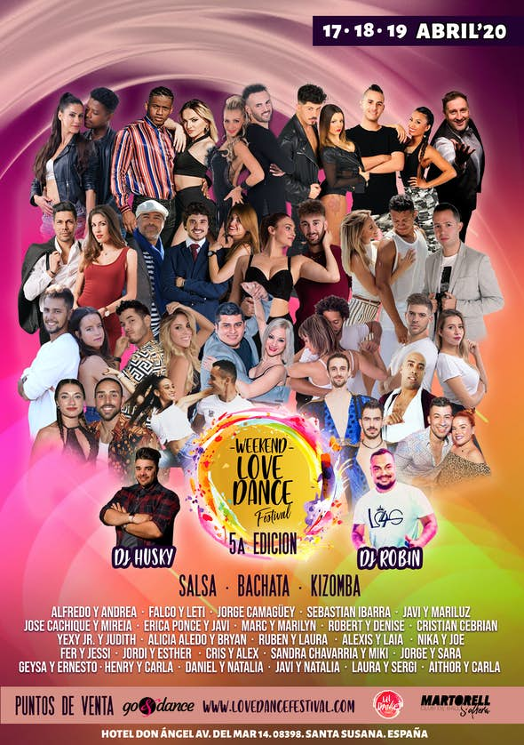 Weekend Love Dance Festival - Abril 2020