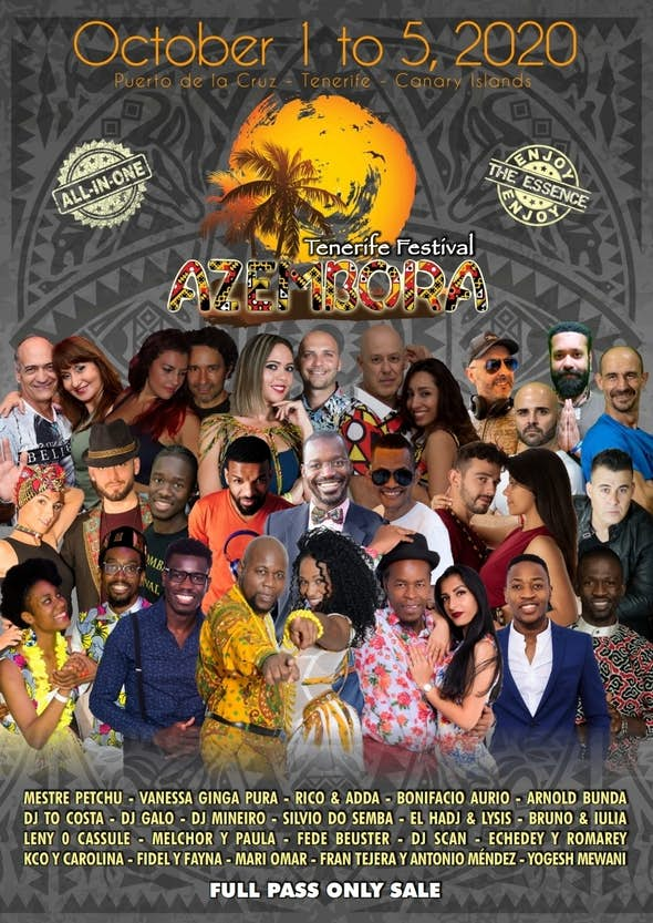 Azembora Tenerife Festival 2020 (6th Edition)