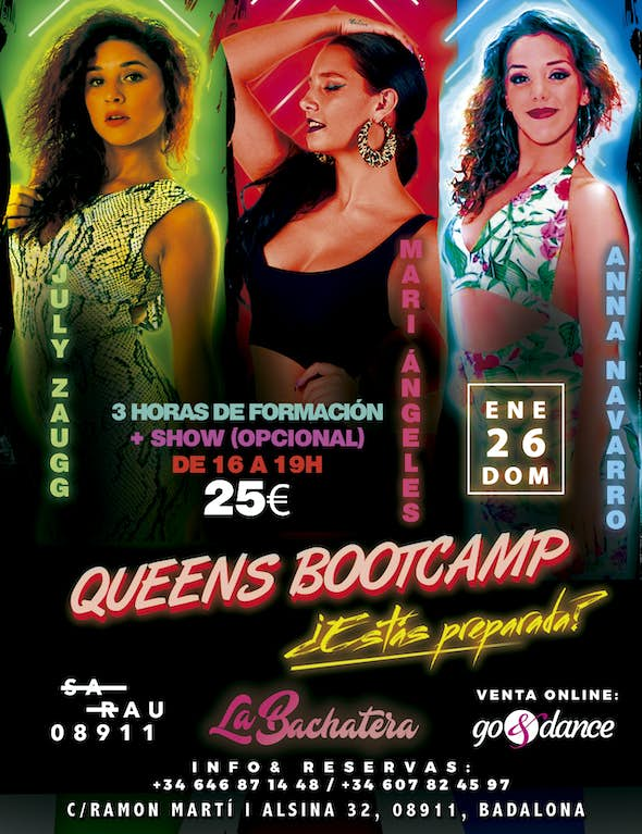 Queens Bachata BootCamp in Sarau - 26 January 2020