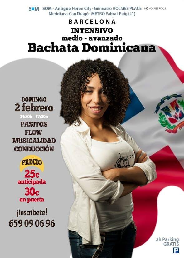 Intensivo de Pasitos + Flow de Bachata Dominicana en Barcelona - 2 Febrero 2020