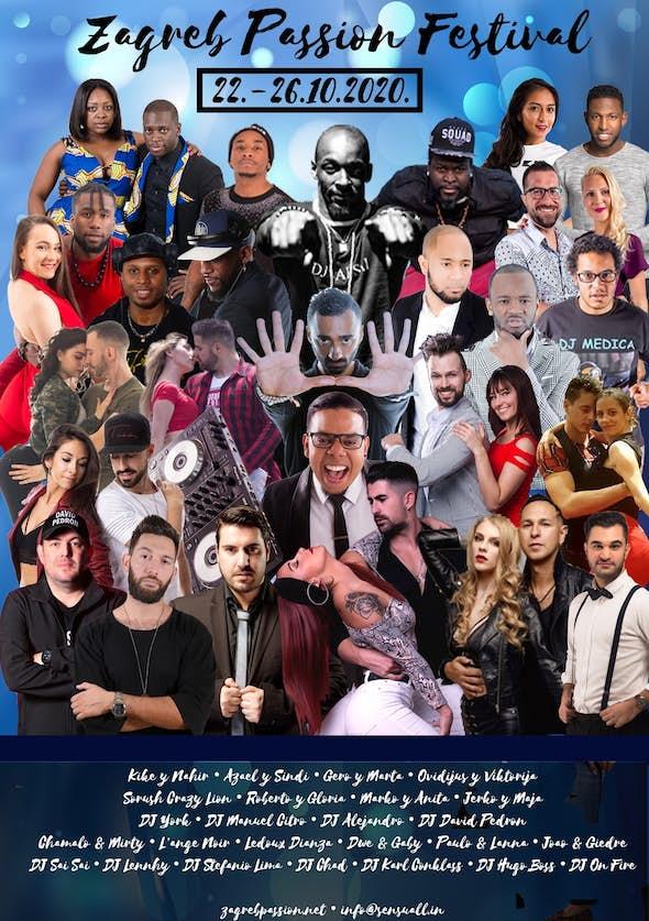 4th Zagreb Passion Festival 2020 - SENSUAL EDITION