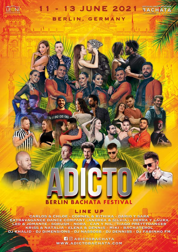 ADICTO: Berlin Bachata Festival 2021