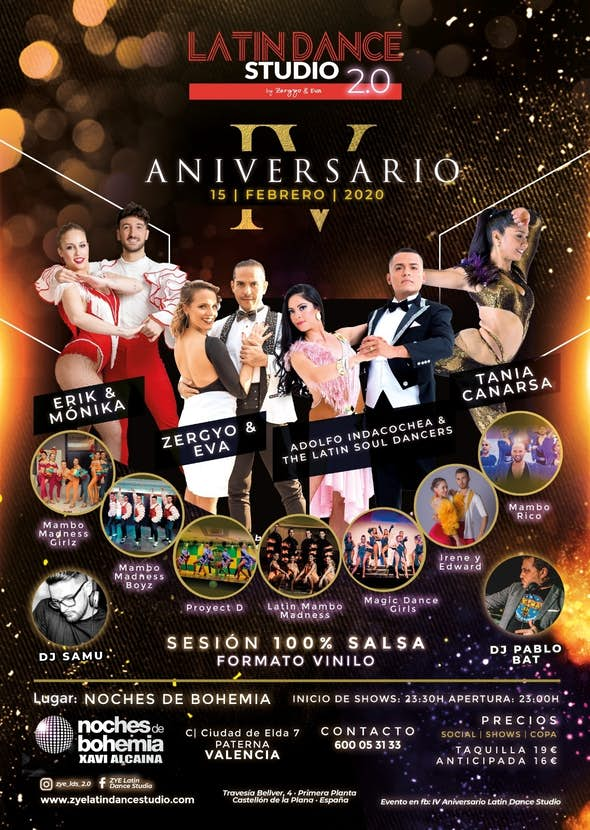 IV Anniversary Latin Dance Studio 2.0 - February 15, 2020