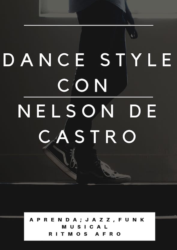 Dance Style Workshop in Madrid Saturdays - February to May 2020