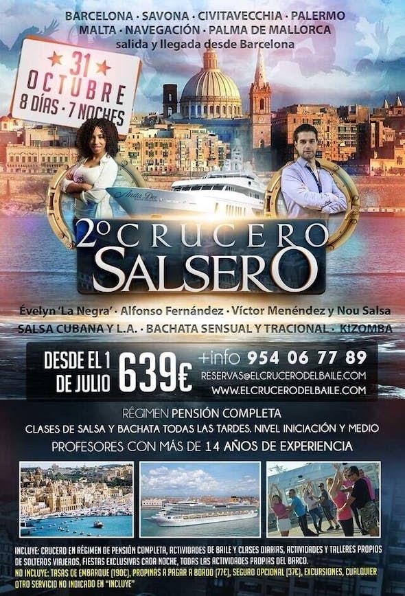 EL CRUCERO DEL BAILE 2015 - SEGUNDA EDICION