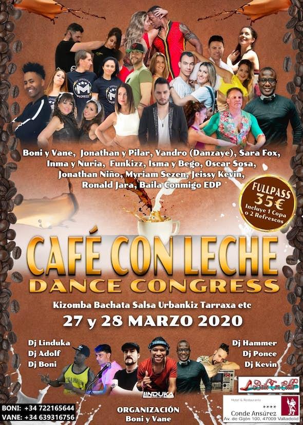 Café con Leche Dance Congress - March 2020