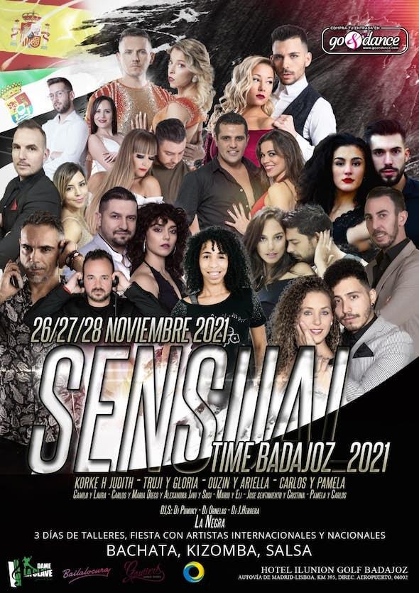 Sensual Time Badajoz 2021