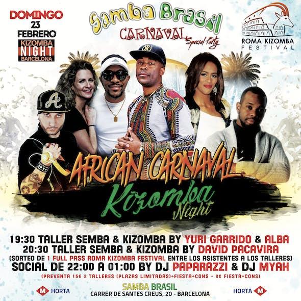 Domingo 23 Febrero - Special Party - African Carnaval Barcelona