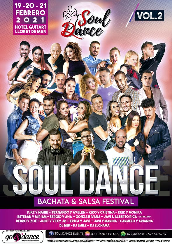 SoulDance Bachata & Salsa Festival 2021 (cancelado)