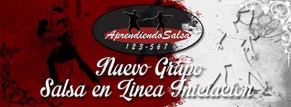 """New """"Salsa en Línea"""" group from scratch Initiation"""