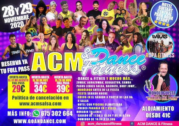 ACM Dance and Fitness 2020