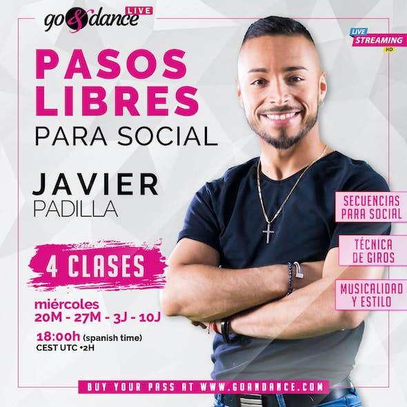 Trucos & Pasos Libres de Salsa para Social con JAVIER PADILLA - Curso en directo