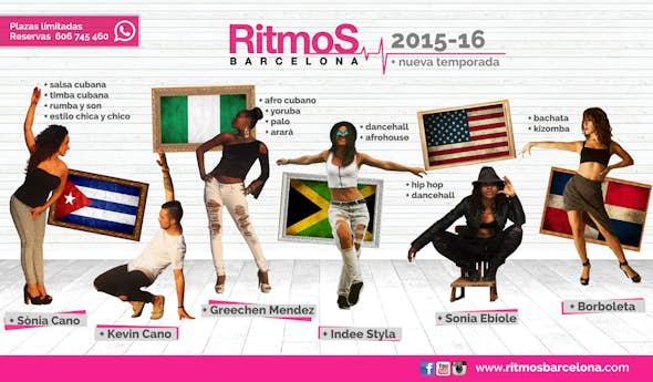 Nuevas Clases en RITMOS BARCELONA