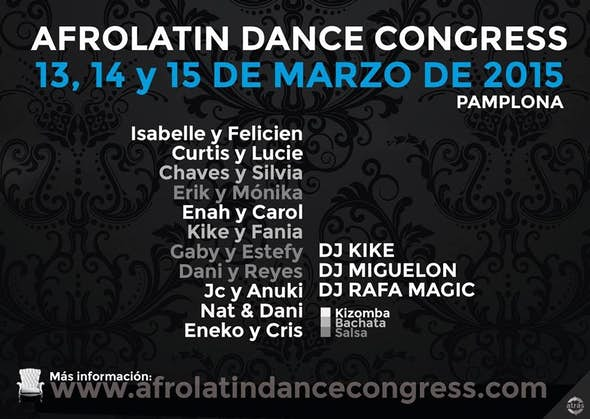Afrolatin Dance Congress 2015
