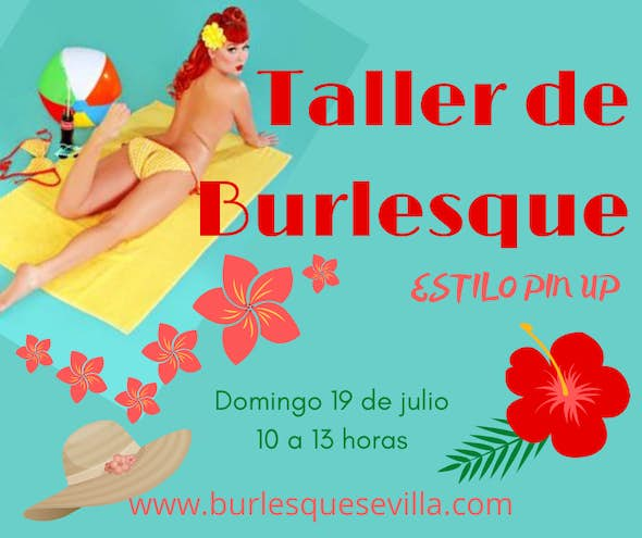 Burlesque Pin Up Style Workshop