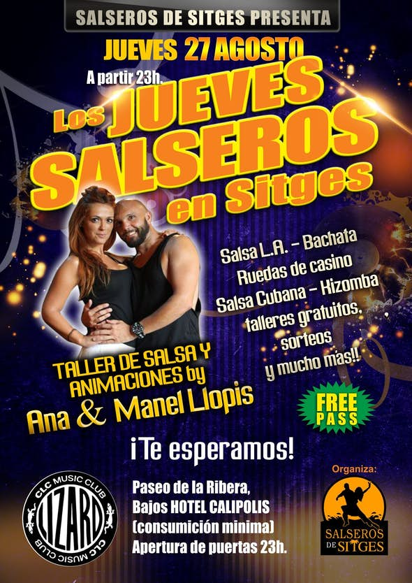 Salsa Thursdays at Sitges with Manel Llopis