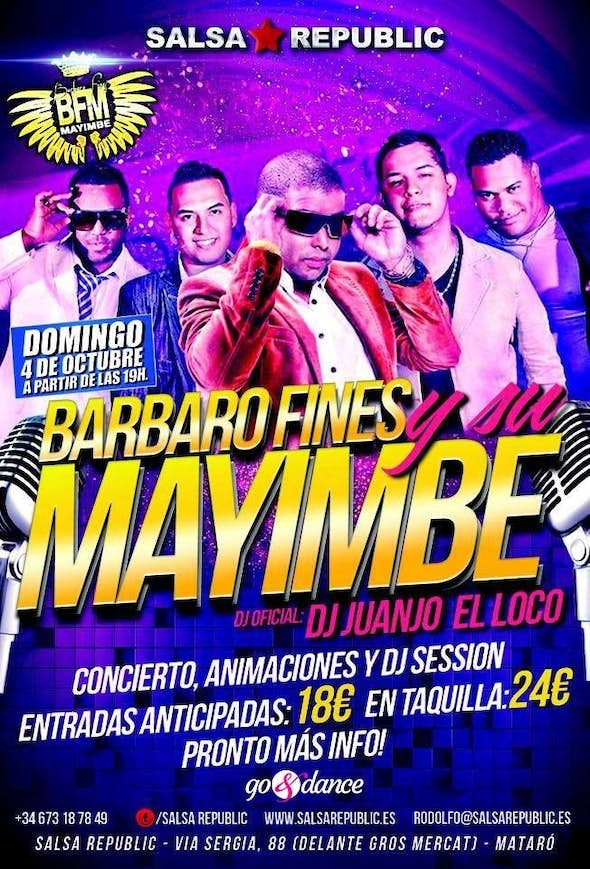 BARBARO FINES Y SU MAYIMBE in concert