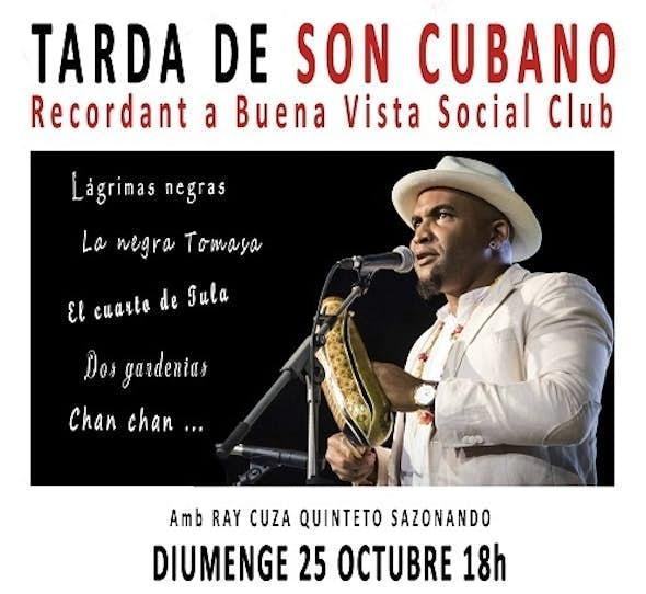 SON CUBANO CONCERT (Ray Cuza Quinteto Sazonando) - 25th October 2020