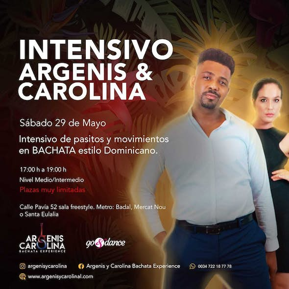 INTENSIVE Argenis and Carolina Movements and Domincan Style in Barcelona - Saturday 29 May 2021