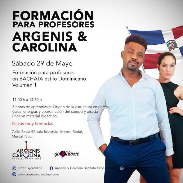 Formación PROFESORES Argenis y Carolina en Barcelona - Sábado 29 de Mayo 2021