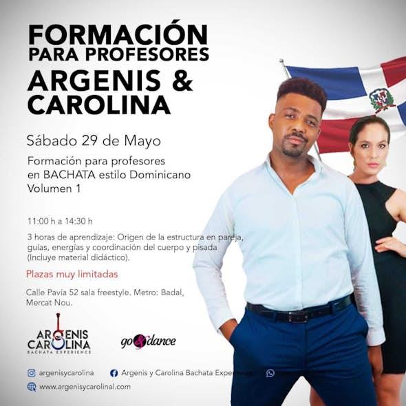Training TEACHERS Argenis and Carolina in Barcelona - Saturday, May 29, 2021