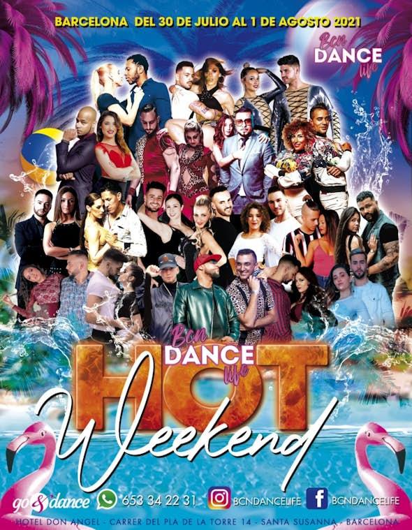 BCN Dance Life HOT Weekend - Julio 2021