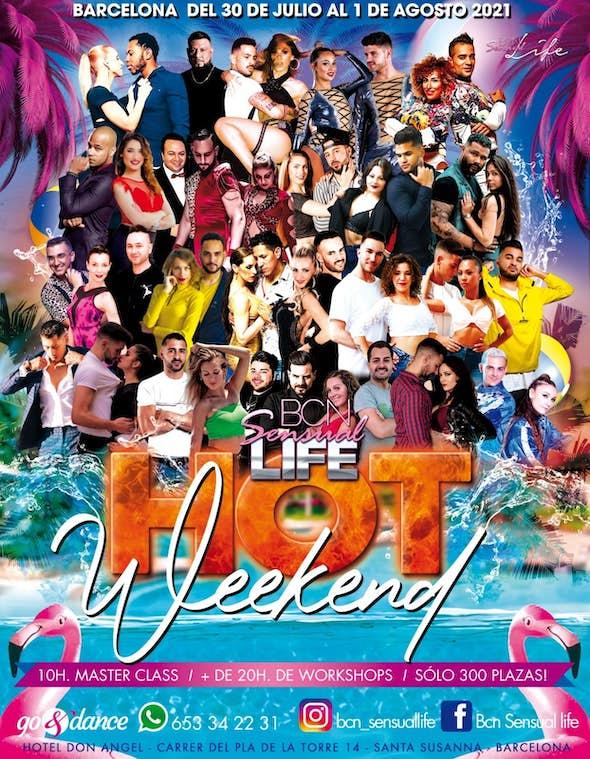 BCN Dance Life HOT Weekend - July 2021