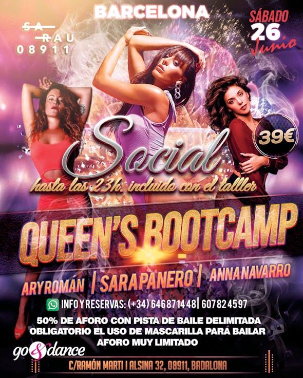 Queen's Bootcamp en Barcelona - 26 Junio 2021