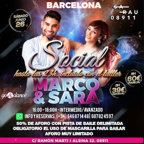 Intensivo Marco y Sara en Barcelona - 26 Junio 2021