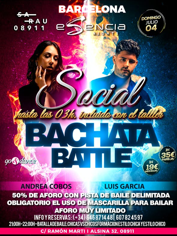 Bachata Battle - 4th July 2021
