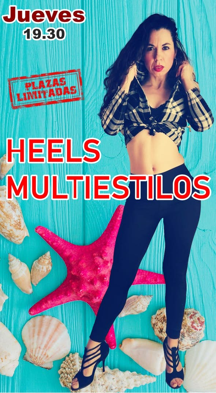 Curso Heels Multi-estilo en Barcelona Junio y Julio 2021
