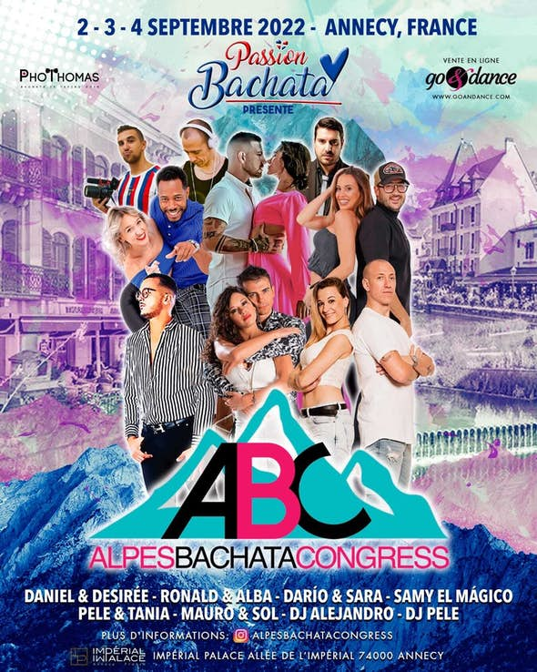 ALPES BACHATA CONGRESS - ABC - 2-3-4 September 2022