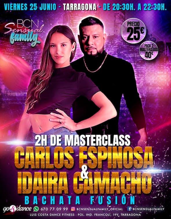Master Class by Carlos Espinosa & Idaira Camacho - Tarragona June 25th 2021
