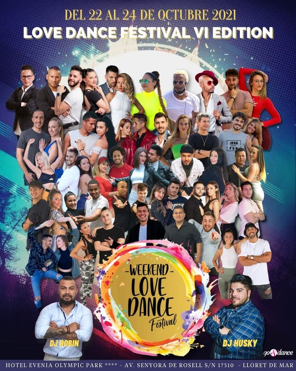Weekend Love Dance Festival - Octubre 2021