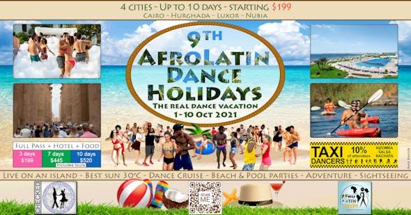 9th AfroLatin Dance Holidays Egypt - October 2021