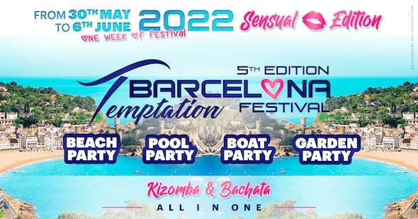 Barcelona Temptation Festival 2022 Sensual Edition