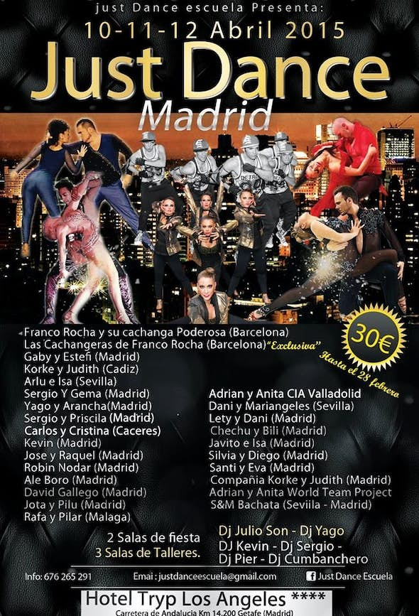 Just Dance Madrid 2015 (2nd Edition)
