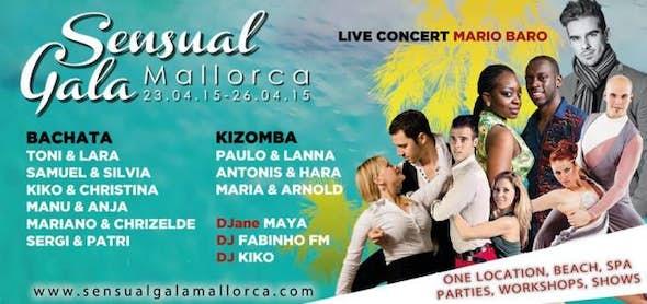 Sensual Gala Mallorca 2015