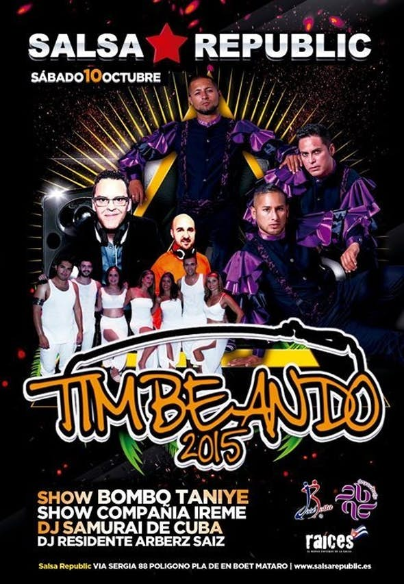 TIMBEANDO 2015 OFFICIAL PARTY