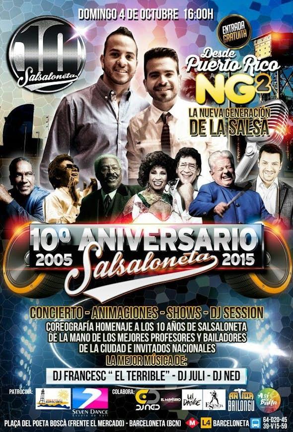 10º Aniversario Salsaloneta