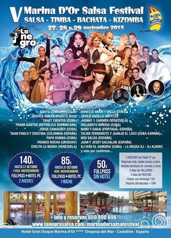 V Marina D'Or Salsa Bachata and Kizomba Festival