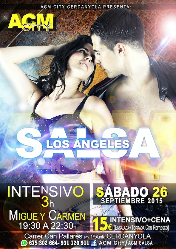 Intensive Salsa L.A. by Migue And Carmen