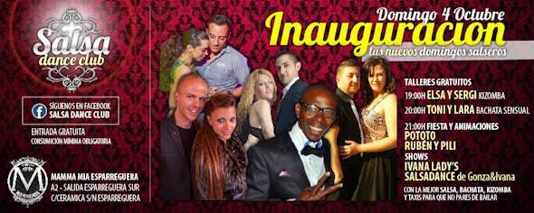 SALSA DANCE CLUB Inaguration Sunday 4th October