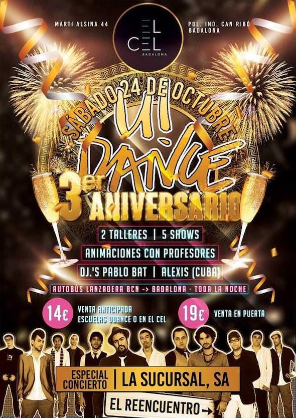 3º Anniversary U!DANCE