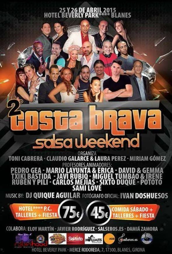 Costa Brava Salsa Weekend 2015