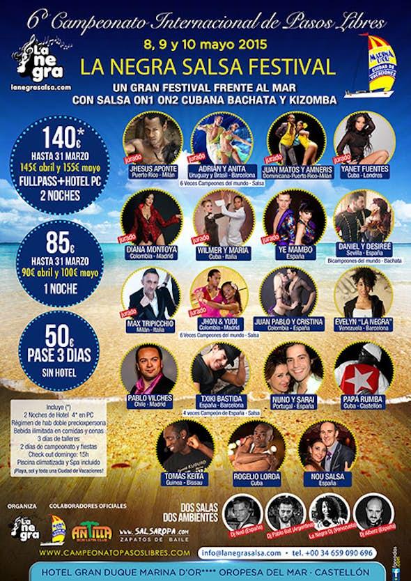 La Negra Salsa Festival 2015
