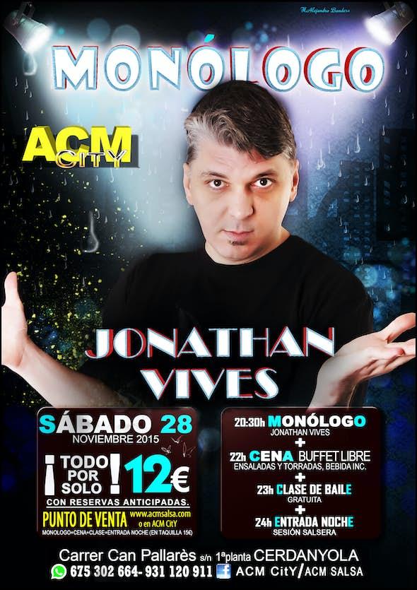 Monologue with Jonathan Vives