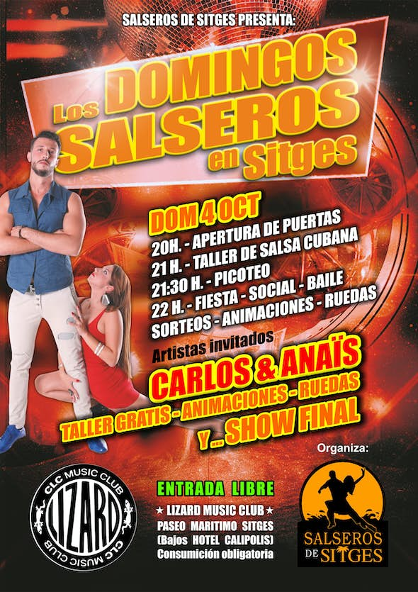 Salsa sundays at Sitges